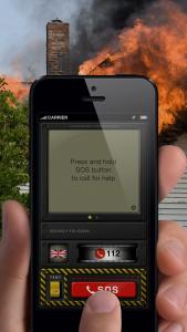 echo112 app screen