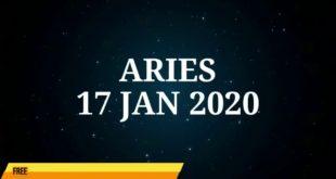 ARIES HOROSCOPE TODAY | 17 JAN 2020