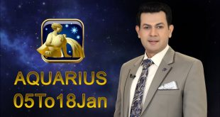 Aquarius Weekly horoscope 5Jan To 18 Jan 2020