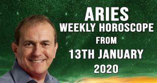 Aries Weekly Astrology Horoscope 13th January 2020