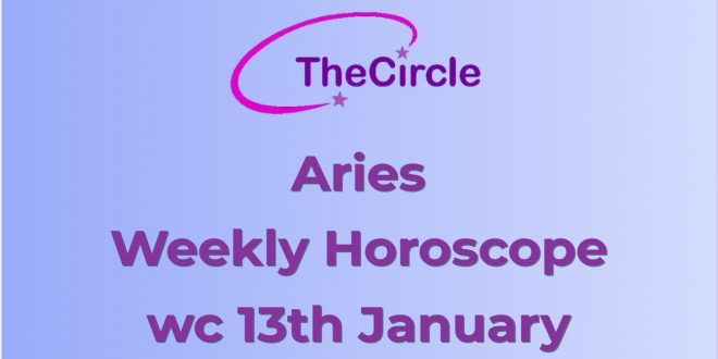 Aries Weekly Horoscope from 13th January 2020