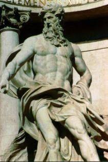 neptune god statue