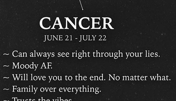 On point! #cancerzodiac...