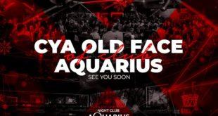 U subotu završavamo još jednu epohu u klubu #Aquarius! Poslednja žurka u trenutn...