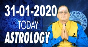 31.01.2020 Today Horoscope | Daily Astrology | Today Astrology | Zodiac