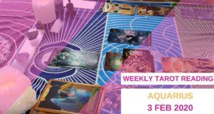 AQUARIUS 3 Feb weekly Tarot: seeing love in a new way