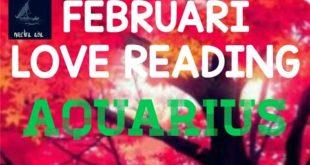 AQUARIUS LOVE READING FEBRUARI 2020
