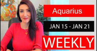 AQUARIUS WEEKLY LOVE TAKE THE TIME YOU NEED FOR THIS!!! JAN 15 TO 21