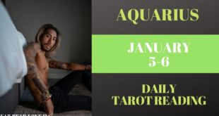"AQUARIUS - ""HERE COMES THE NEW PERSON"" JANUARY 5-6 DAILY TAROT READING"