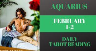 "AQUARIUS - ""HOT GIRL SUMMER"" FEBRUARY 1-2 DAILY TAROT READING"
