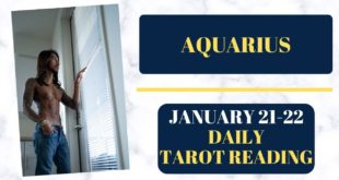 """AQUARIUS - """"OBSESSED AND MADLY IN LOVE WITH YOU"""" JANUARY 21-22 DAILY TAROT READING"""
