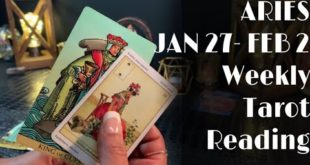 ARIES - THE PAST DOESN'T WANT TO SEE YOU LEAVE... JAN 27-FEB 2 Weekly Tarot Reading