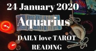 Aquarius daily love reading ⭐ THEY LOVE YOU NO MATTER WHAT ⭐24 JANUARY 2020