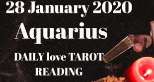 Aquarius daily love reading 💖COMMUNICATION IS THE KEY 💖 28 JANUARY  2020