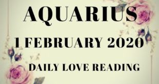 Aquarius daily love reading 🤭 THEY MISS YOU MORE THAN YOU MISS THEM  🤫🥰 1 FEBRUARY 2020