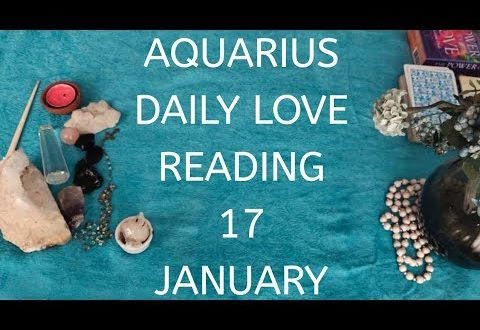 Aquarius daily love reading....💖THIS PERSON THINKS YOU ARE A GIFT FROM GOD💖17 JANUARY 2020