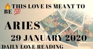 Aries love tarot reading ......THIS LOVE IS MEANT TO BE ..!!!!