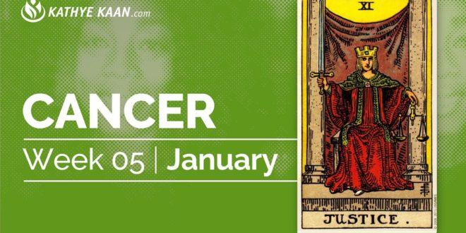 CANCER WEEKLY PSYCHIC TAROT READING  | WEEK 05 | HOROSCOPE JANUARY 27 - 2 FEBRUARY