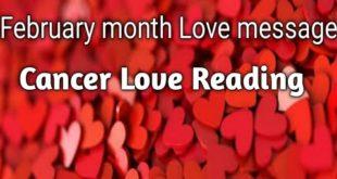 Cancer Love Reading February month (Hindi Tarot Reading)