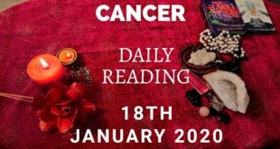 Cancer daily love reading....THEY ARE MISSING YOU...😔