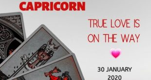 Capricorn daily love reading 💖 TRUE LOVE IS ON THE WAY 💖30 JANUARY 2020