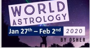 Committing to your path; world weekly astrology Jan 27th - Feb 2nd 2020