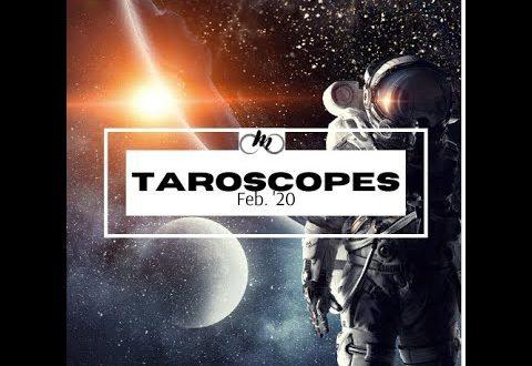 February Taroscopes Pt 1 ARIES - VIRGO (monthly horoscopes + tarot pull)