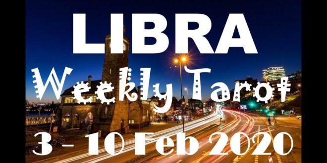 LIBRA WEEKLY TAROT ASTROLOGY HOROSCOPE 3 - 10 FEBRUARY 2020 (SPECIAL LEO FULL MOON)