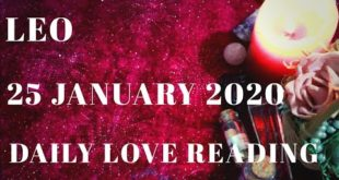 Leo daily love reading ⭐ THIS PERSON DIDN'T THINK OF LEAVING YOU ⭐ 25 JANUARY 2020