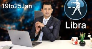 Libra Weekly horoscope 19Jan To 25 Jan 2020