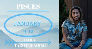 """PISCES - """"I WANT SOMEONE NEW"""" JANUARY 9-10 DAILY TAROT READING"""