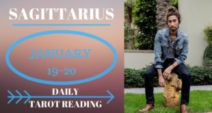 "SAGITTARIUS - ""THEY WANT YOU BUT THINGS NEED TO CHANGE"" JANUARY 19-20 DAILY TAROT READING"