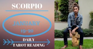 "SCORPIO - ""SOMETHING IS WORKING, THEY CAN'T LET GO"" JANUARY 19-20 DAILY TAROT READING"