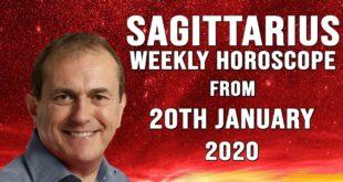 Sagittarius Weekly Horoscopes & Astrology from 20th January 2020 - LIFE SPEEDS UP...