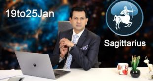 Sagittarius Weekly horoscope 19Jan To 25 Jan 2020