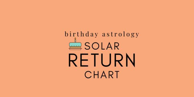 Solar Return Calculator: Where Should I Spend My Birthday?