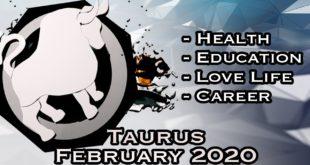 Taurus Monthly Horoscope | February 2020 Forecast | Astrology In Hindi
