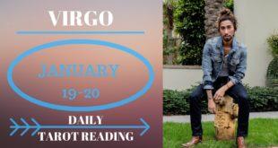 "VIRGO - ""ONE MORE CHANCE"" JANUARY 19-20 DAILY TAROT READING"