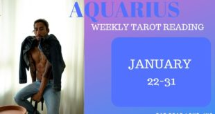 """AQUARIUS - """"YOU TWO WILL BE TOGETHER!"""" JANUARY 22-31 WEEKLY TAROT READING"""