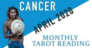 "CANCER - ""THEY WANT TO CHANGE THINGS FOR THE BETTER"" APRIL 2020 MONTHLY TAROT READING"