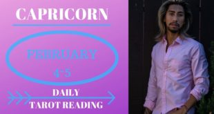 "CAPRICORN - ""THE OMEN YOU NEED TO LOOK FOR"" FEBRUARY 4-5 DAILY TAROT READING"