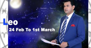 Leo Weekly horoscope 24Feb To 1st March 2020