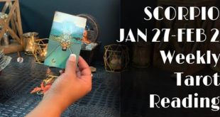 SCORPIO - LUST OVER LOVE! What's THIS COMING TOWARDS YOU? JAN 27-FEB 2 Weekly Tarot Reading