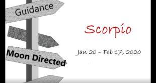 SCORPIO Monthly Jan 20 - Feb 17, 2020 CHANGE WILL DO YOU GOOD!!