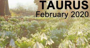 "TAURUS FEBRUARY 2020 TAROT READING  ""GOOD NEWS TAURUS! MATERIAL ADVANCEMENT"""