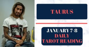"""TAURUS - """"YOU DIDN'T EXPECT THIS TO HAPPEN"""" JANUARY 7-8 DAILY TAROT READING"""