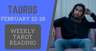 """TAURUS - """"YOU WON'T BE SINGLE FOR LONG"""" FEBRUARY 22-29 WEEKLY TAROT READING"""