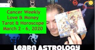 💖Cancer Weekly Love and Money (Horoscopes & Tarot March 2 - 6, 2020)