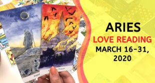 ARIES LOVE | You Didn't See This Coming ~ March 16-31, 2020 Tarot Reading