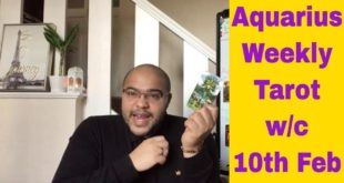 Aquarius Weekly Tarot **Your CUP is REPLENISHED!** 10th-16th February 2020 #Aquarius #Tarot